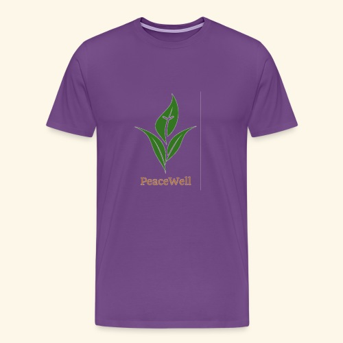 PeaceWell - Support your vendor! - Men's Premium T-Shirt