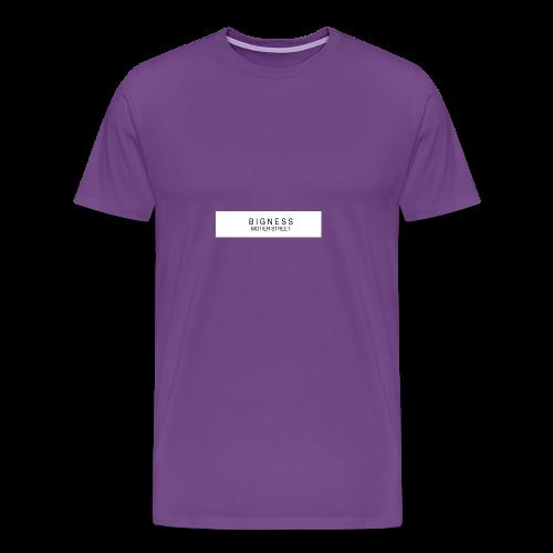 BIGNESS Ponsonby's - Men's Premium T-Shirt