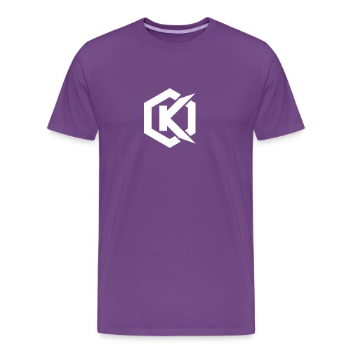 Logo de Kunsel sur Twitch et Ylutube - Men's Premium T-Shirt