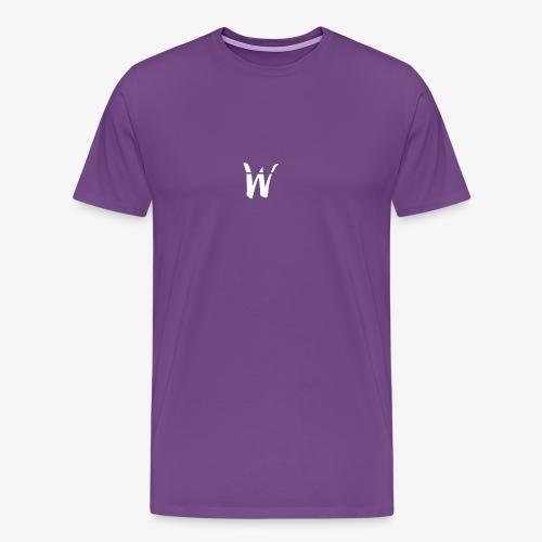 W White Design - Men's Premium T-Shirt