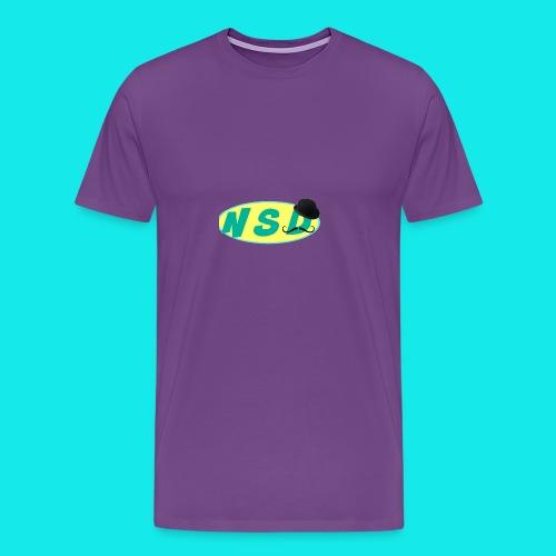 NotSoDapper logo - Men's Premium T-Shirt