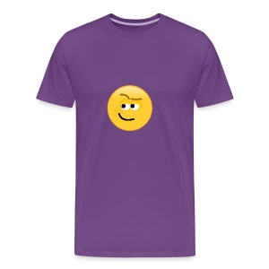 Smirk - Men's Premium T-Shirt