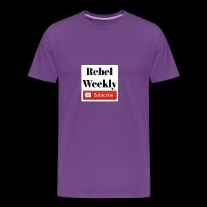 Rebel Weekly - Men's Premium T-Shirt