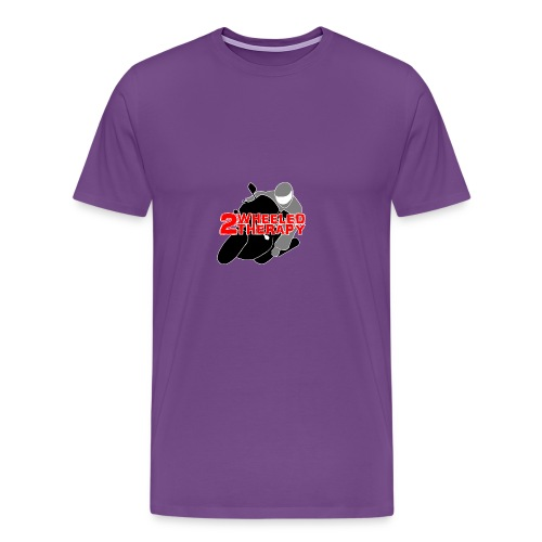 2 Wheeled Thereapy - Men's Premium T-Shirt