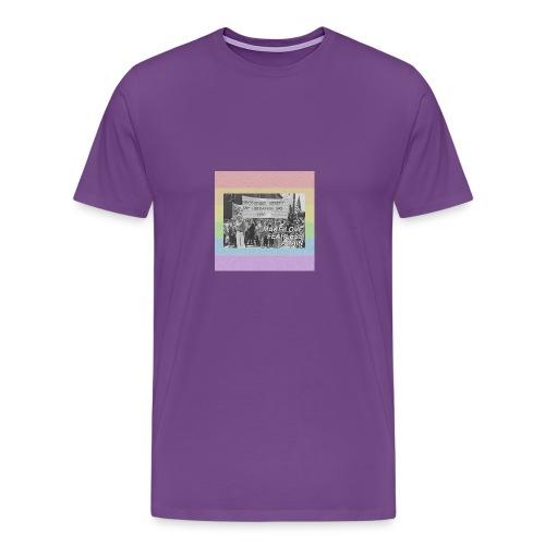 make love fearless again pins - Men's Premium T-Shirt