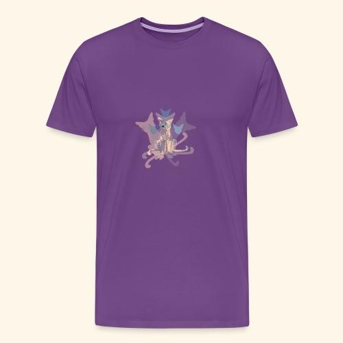 Feline of Obscure Symmetry - Men's Premium T-Shirt