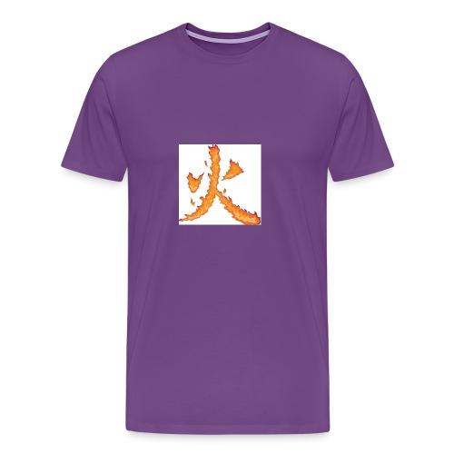 Fire till da end come and get it - Men's Premium T-Shirt