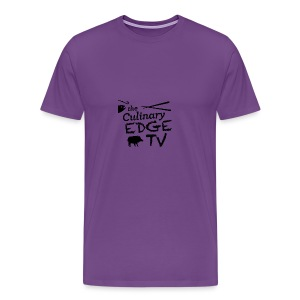 CETV Black Signature - Men's Premium T-Shirt