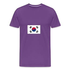 Flag of South Korea - Men's Premium T-Shirt