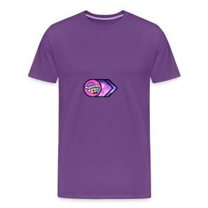 Mushroom Militia transparent - Men's Premium T-Shirt
