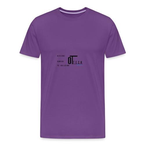 back of tee shirt - Men's Premium T-Shirt