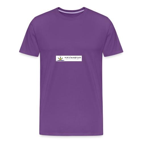 Wanyheadpress Logo - Men's Premium T-Shirt