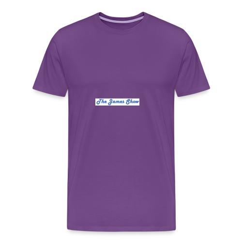 The James Show - Men's Premium T-Shirt