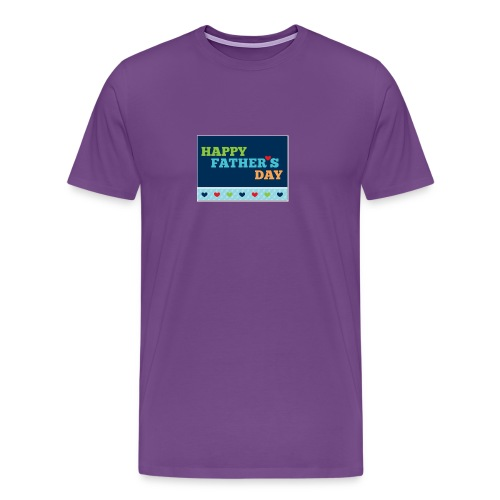 happy fathers day - Men's Premium T-Shirt