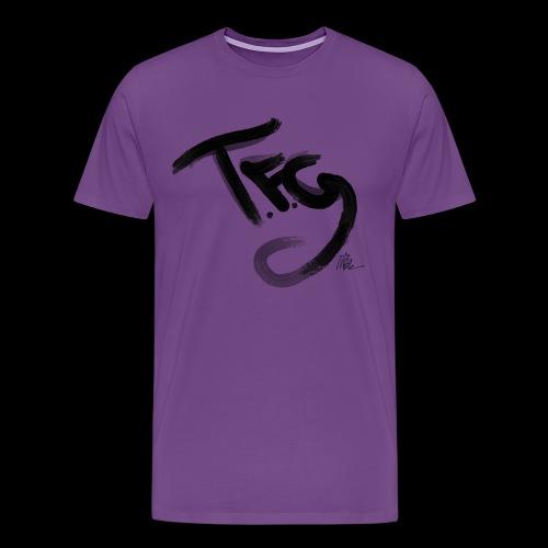 T.f.g Mide logo - Men's Premium T-Shirt
