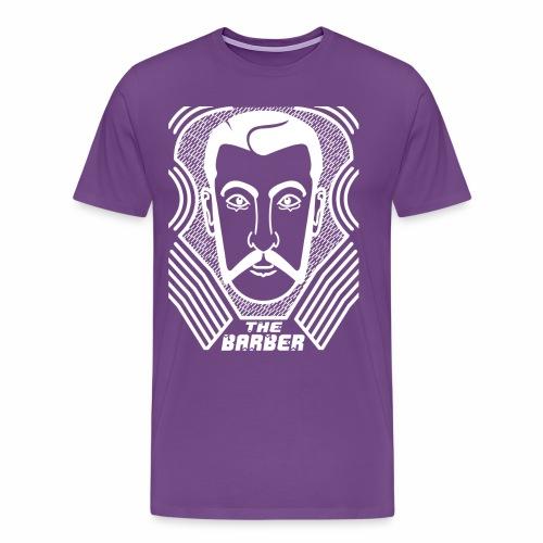 Barber 09 - Men's Premium T-Shirt