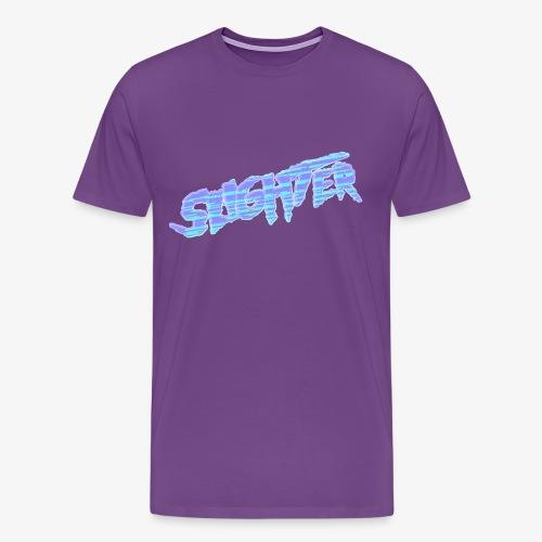 Retro Logo Glitch 2 - Men's Premium T-Shirt
