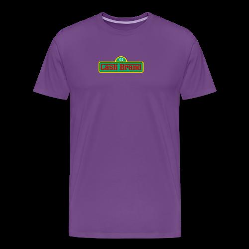 Cash Brand Premium Seasme street Graphic - Men's Premium T-Shirt