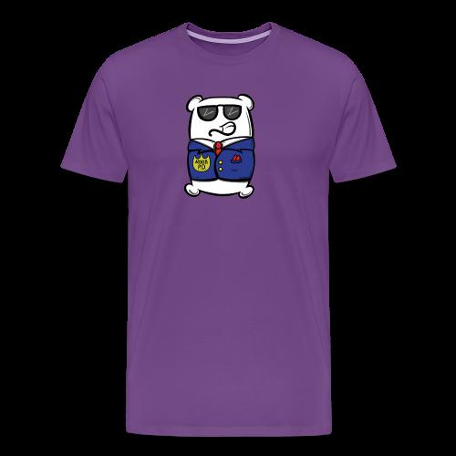 NOOB P.D. Mr. Pillow Suit - Men's Premium T-Shirt