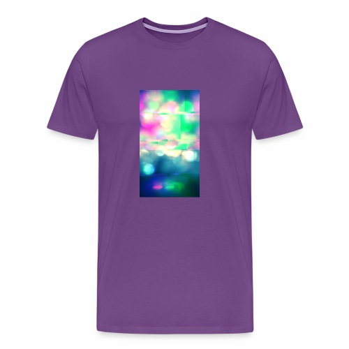 Glitchy Photography - Men's Premium T-Shirt