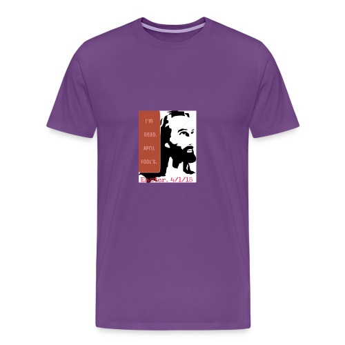 Easter, April Fool's, 4/1/18 - Men's Premium T-Shirt