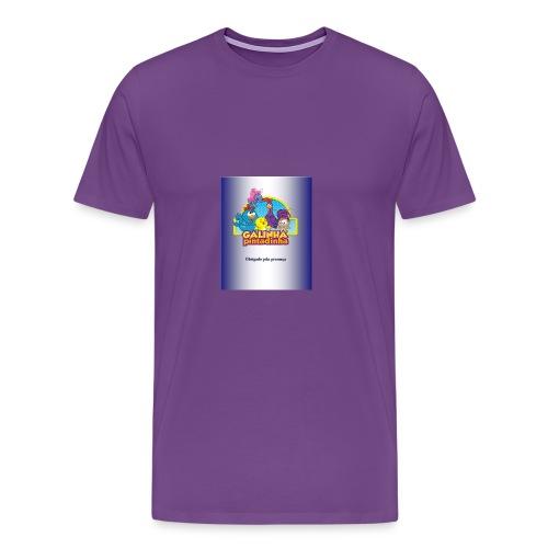 Publicac a o1 pubgalinha pitatinha 2 - Men's Premium T-Shirt
