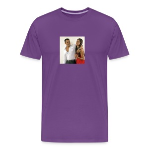 Salman khan and katrina kaif beat photo t-shirt - Men's Premium T-Shirt