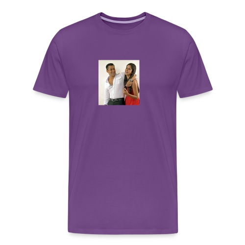 Salman khan and katrina kaif beat photo t-shirt - Men's Premium T-Shirt