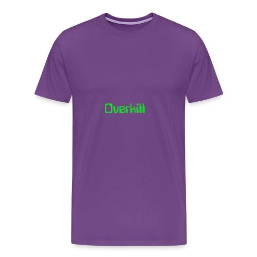 Overkill Line 4 - Men's Premium T-Shirt