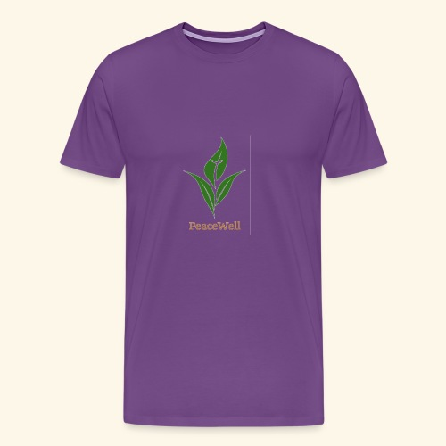 PeaceWell - Support your vendor! - Men's Premium T-Shirt