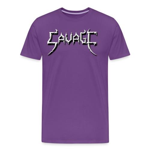 savage logo - Men's Premium T-Shirt