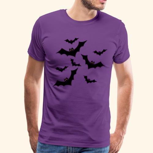 Halloween bats - Men's Premium T-Shirt