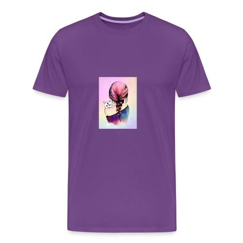 b1813b29cd96b0fca0a5c345956effaa cute drawings dr - Men's Premium T-Shirt