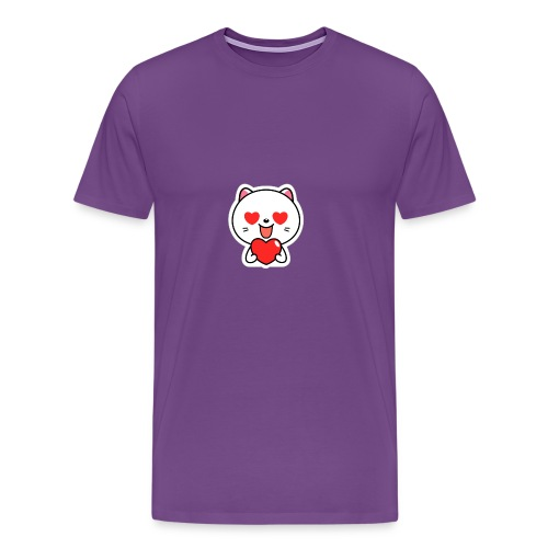 mayo the viber cat 2 by em120xd7ic33y - Men's Premium T-Shirt