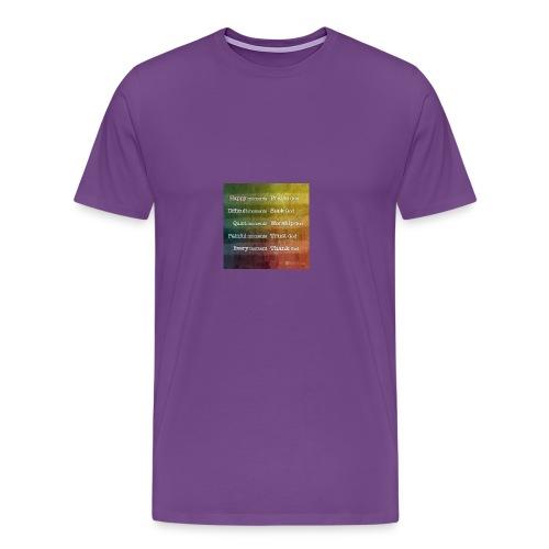 Bible - Men's Premium T-Shirt
