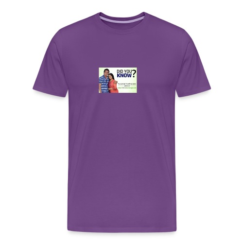 did you know - Men's Premium T-Shirt