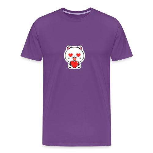 mayo the viber cat 2 by em120xd7ic33y - Men's Premium T-Shirt