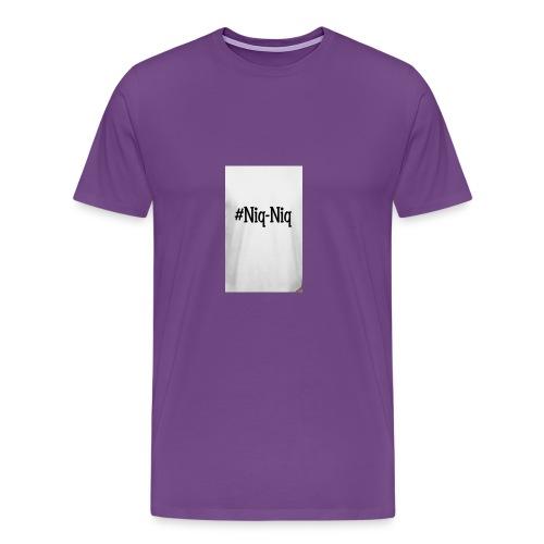 #NiqNiq - Men's Premium T-Shirt