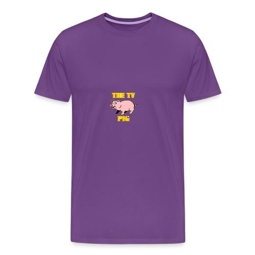 Official TV Pig Merchandise - Men's Premium T-Shirt