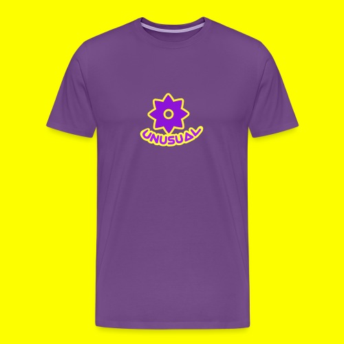 Ususual flower logo - Men's Premium T-Shirt