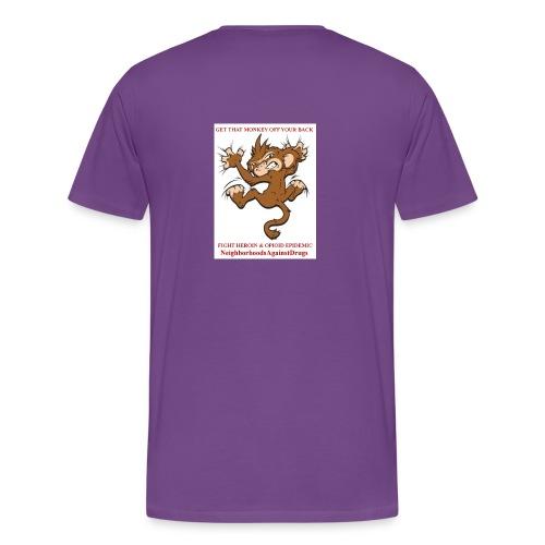 NADMonkeyCampaign - Men's Premium T-Shirt