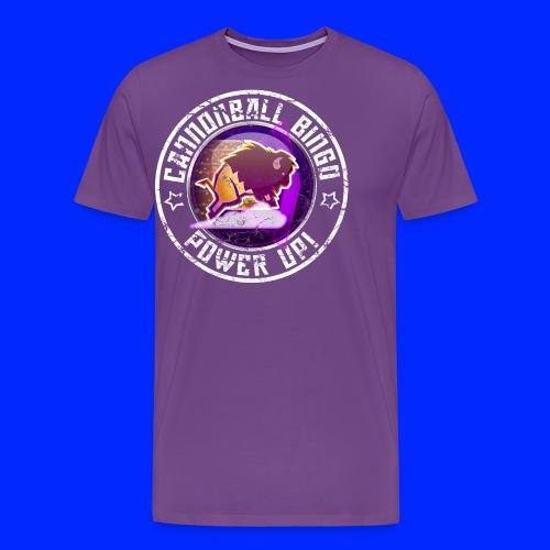 Vintage Stampede Power-Up Tee - Men's Premium T-Shirt
