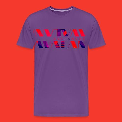 Avalanche vector - Men's Premium T-Shirt