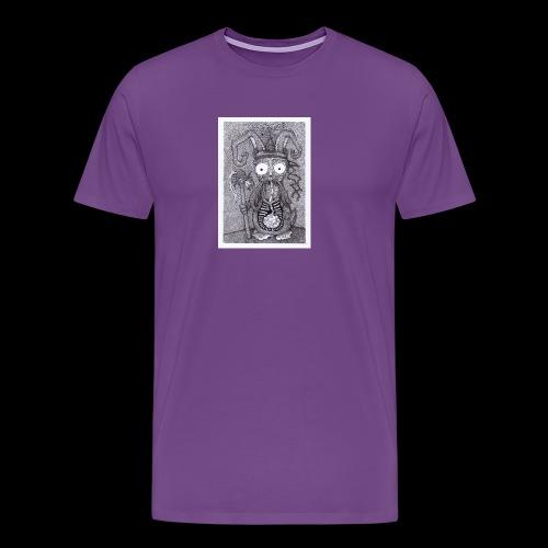 Rabbit Shaman - Men's Premium T-Shirt
