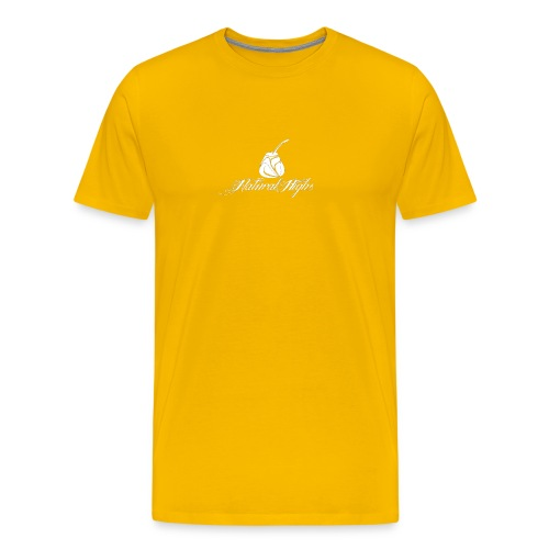 Natural Highs Logo In White - Men's Premium T-Shirt