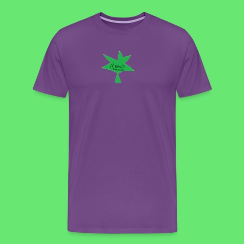 ESCLUSIVE!! 420 weed is coolio for kidlios SHIrT!1 - Men's Premium T-Shirt