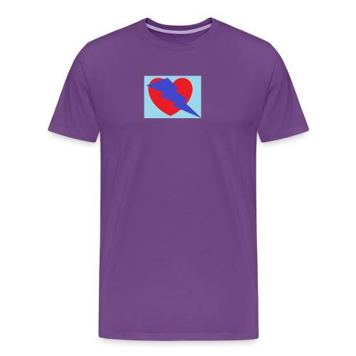 love at first sight - Men's Premium T-Shirt
