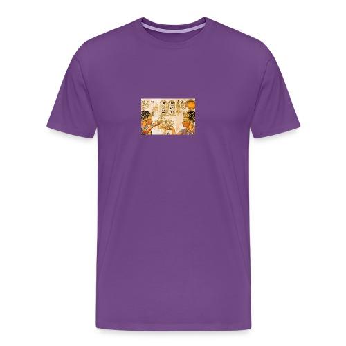 ancient egypt papyrus jpg - Men's Premium T-Shirt