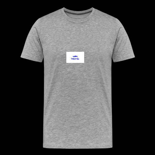 Blue 94th mile - Men's Premium T-Shirt