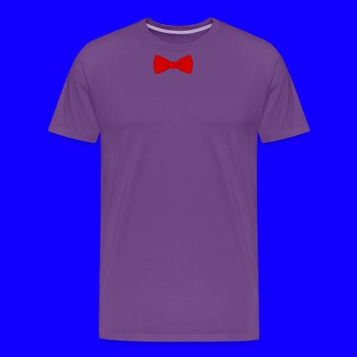red bow tie - Men's Premium T-Shirt